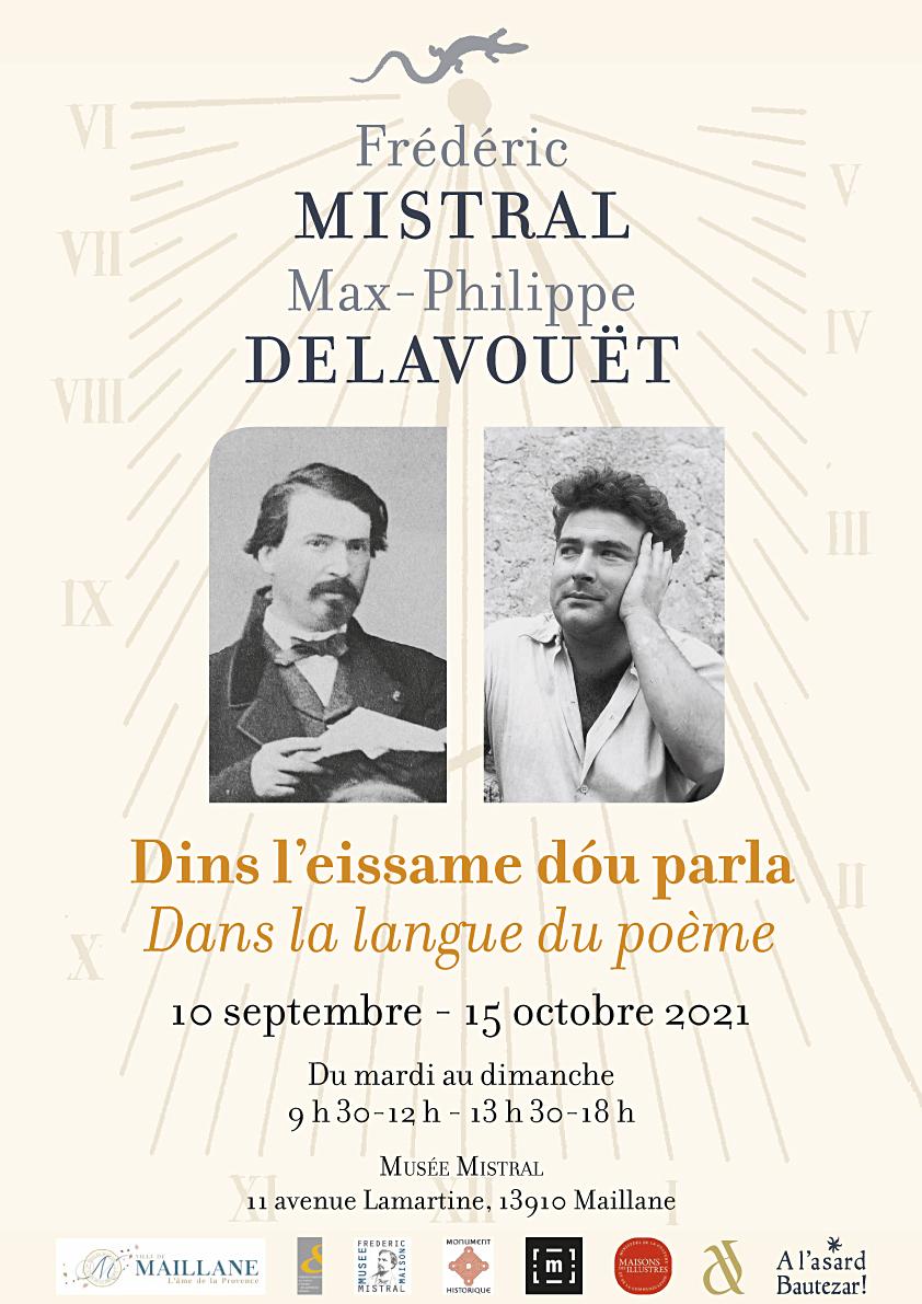 Affiche expo Delavouet